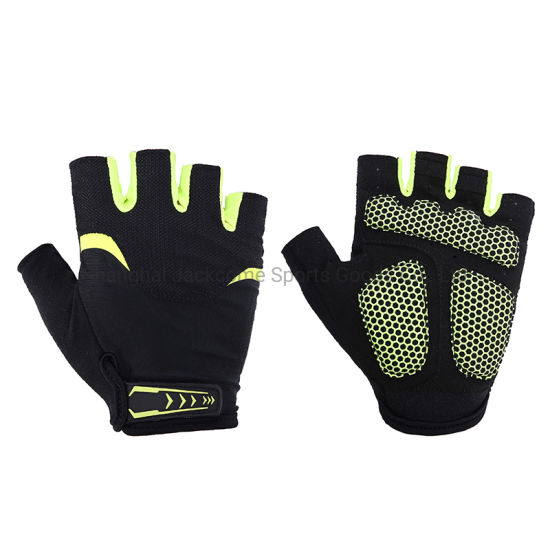 Summer Half Finger MTB Gloves Custom Made Cycling Gloves Breathable Mountain Bike Gloves for Outdoor Comfort Riding Cycling Sports