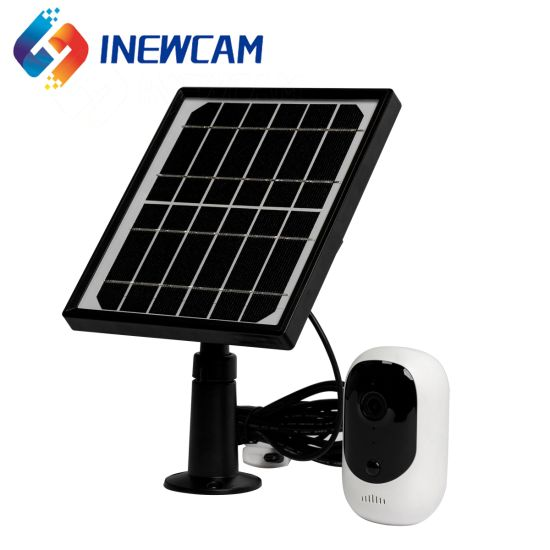 Wireless Battery Powered Home Outdoor Solar Security Camera