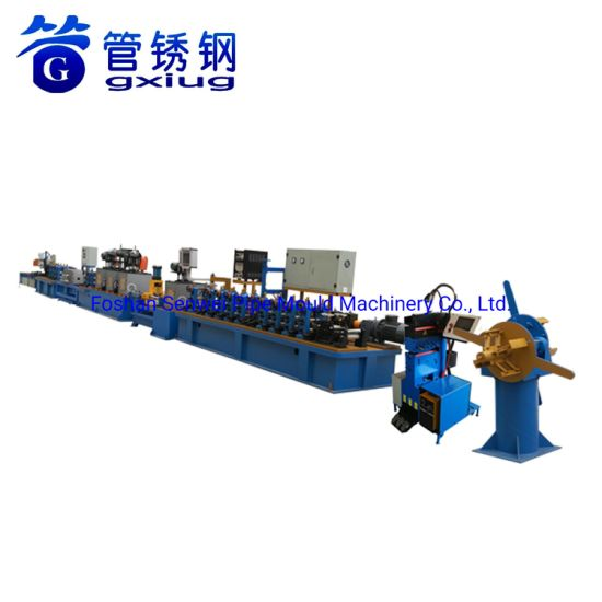 Stainless Steel Drinking Water Pipe Making Machinery