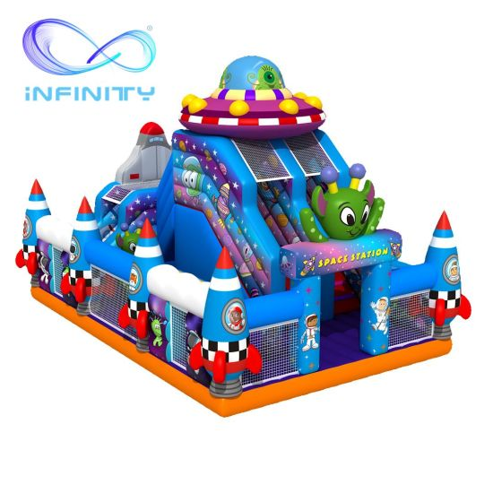Kids Theme Park Inflatable Jumping Castle Bouncy Castle for Sale pictures & photos
