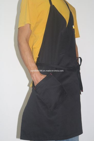 Fashion Tuxedo Stylish Restaurant Salon Barista Waiter Cloth Bib Apron
