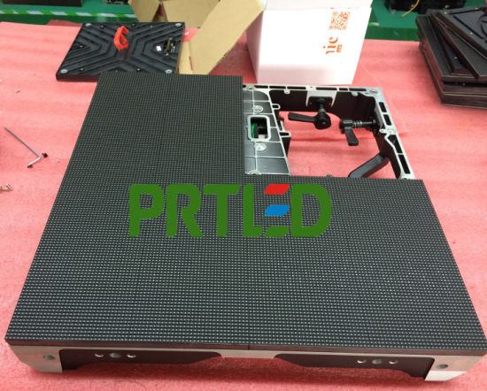 Full Color Rental P3.91 LED Indoor Modules with Front Access pictures & photos