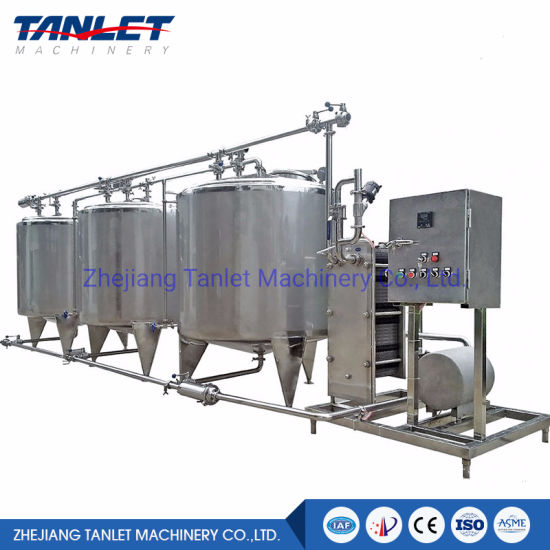 Automatic/Semi-Automatic CIP Cleaning System for Brewery System