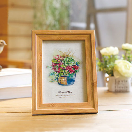 Wholesale Promotional Home Decoration Wooden Cheap Photo Frames pictures & photos