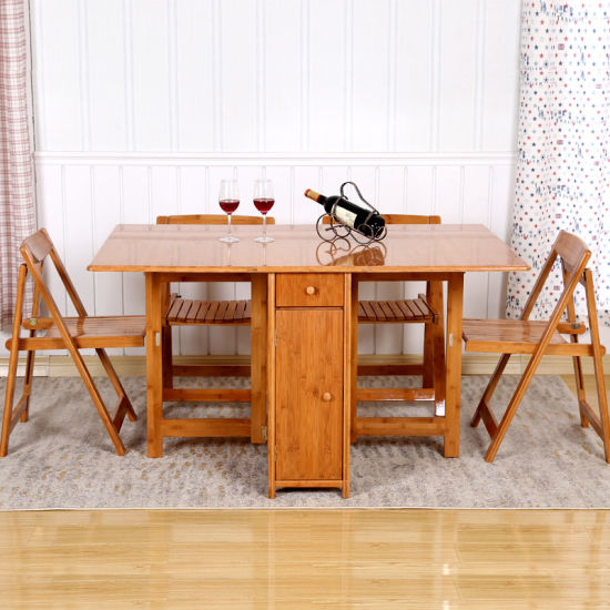 Bamboo Folding Table Home Furniture pictures & photos