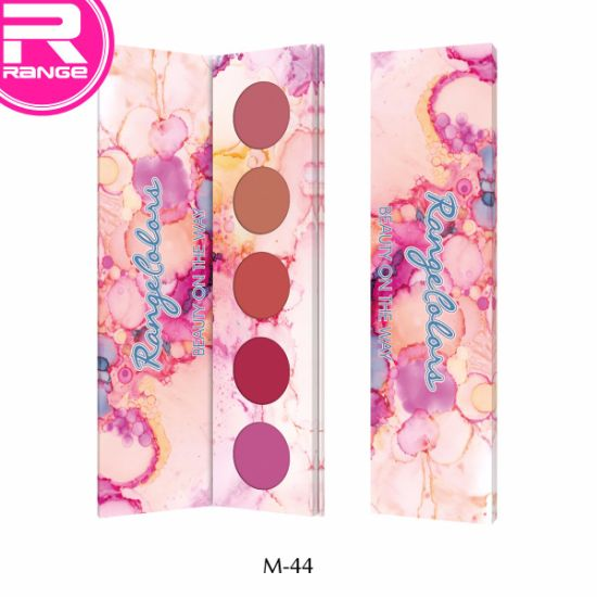 Hot Selling 5 Color Customized Cardboard Eyeshadow Palette Spring Season Makeup Palette Cosmetic Manufacturer pictures & photos