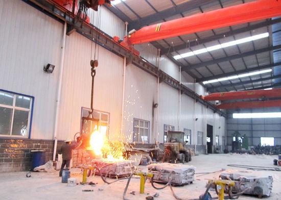 Single Beam Metallurgy Casting Crane-Ladle Transferring Foundry Cranes