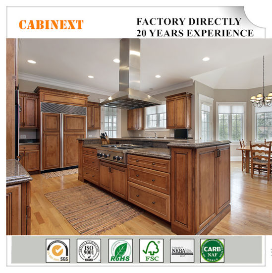 Luxury Home Furniture Kitchen Cabinets All Wood Construction Project