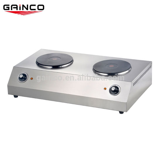 China Kitchen Equipment 2 Burner Table
