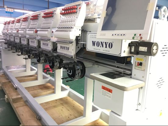 Wonyo Yinghe 8 Head Multi Needle Computer Embroidery Machine for Clothes and Caps