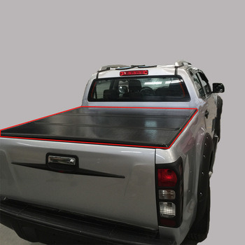 Truck Tonneau Covers For F150 Double Cab 5 5 Bed 15 18 China Tonneau Cover Hard Tri Fold Tonneau Cover Made In China Com