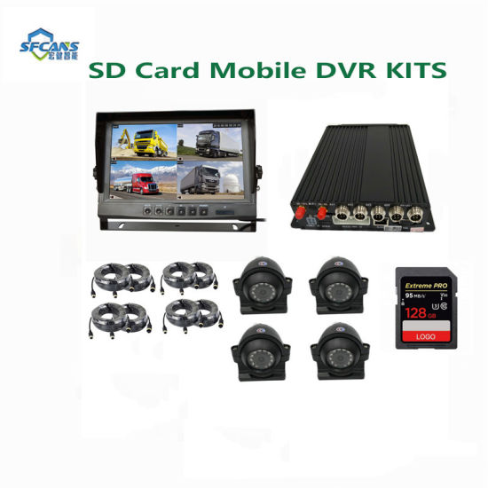 Mobile Security System Car Ahd Mobile DVR System with 3G/4G/GPS
