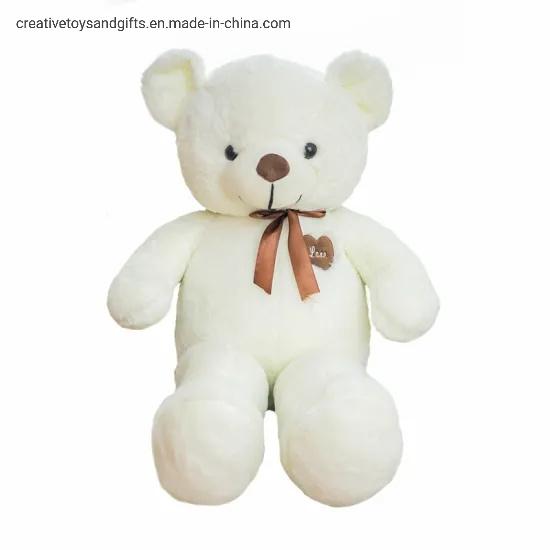 Cute Dark Brown Teddy Bear Plush Dolls Stuffed with Animal Baby Toys Birthday Gifts