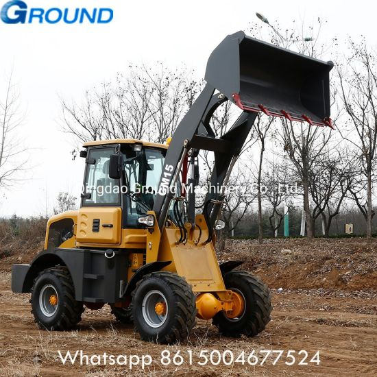 Brand new 1.5ton Construction Equipment Mini Front End Wheel Loader with CE
