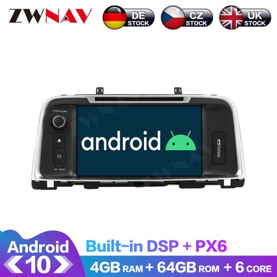 Px6 4GB+64GB Android 10.0 Car Multimedia Player for KIA K5/Optima 2015 Car GPS Navi Radio Navi Stereo IPS Touch Screen Head Unit