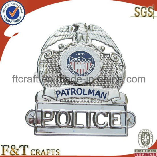 fashion High Quality Police Badge pictures & photos