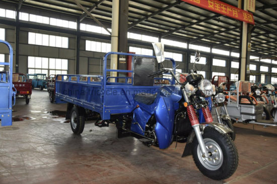 Powerful Three Wheel /Large Cargo/ Diesel /Gasoline Motor Tricycle for Loading pictures & photos