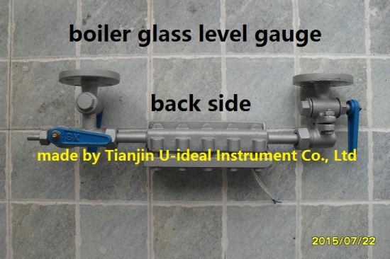(Two) Bi-Color Water Level Gauge for Boiler pictures & photos