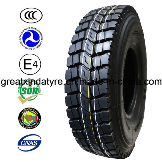 High Quality Bis Truck and Bus Tyres with Blocks (1000R20)