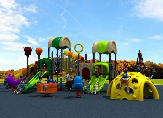 New Mould Factory Kids Exercise Outdoor/Indoor Playground Slide Equipment Amusement Park