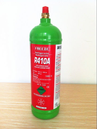 Small Refillable Can 800g R410A Refrigerant for European Market