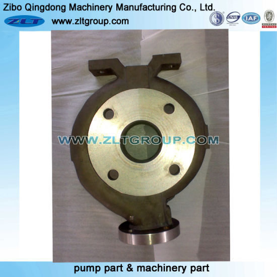 Sand Casting Chemical Centrifugal Process ANSI Durco Mark III Pump Casing Pump Parts in Stainless/Carbon Steel CD4/316ss/Titanium
