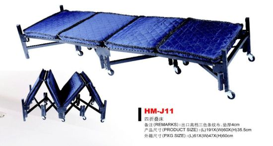 High Weight Capacity Metal Frame Folding Bed