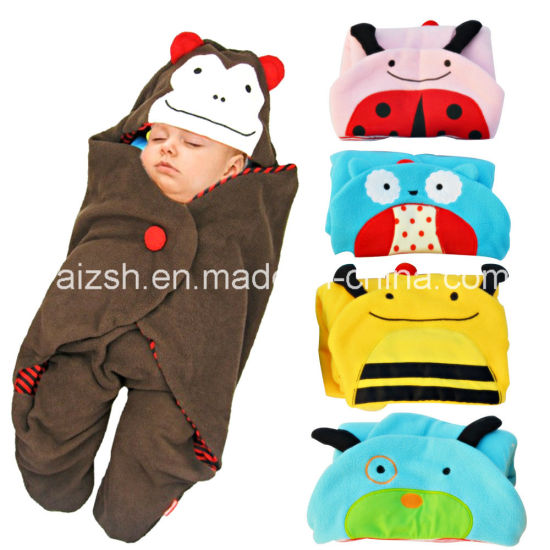 Animal-Shaped Blankets Baby Swaddle for Newborn Baby