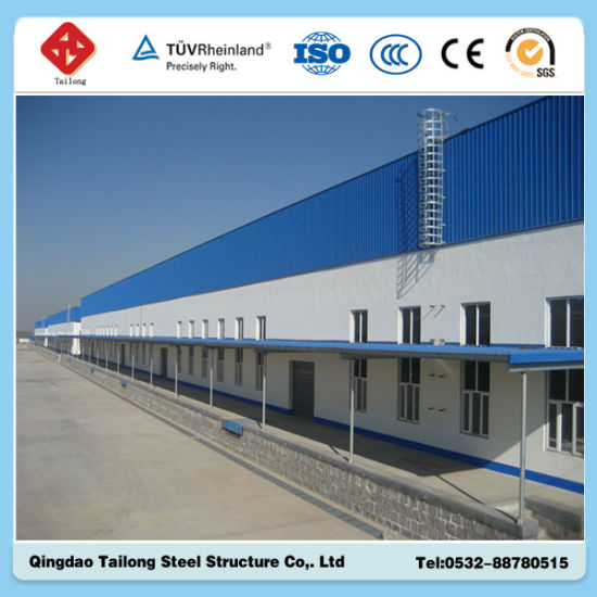 New Prefabricated Steel Structure Warehouse pictures & photos