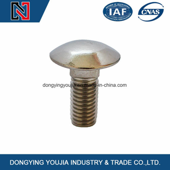 Grade A Decorative Din603 Round Head Carriage Bolts
