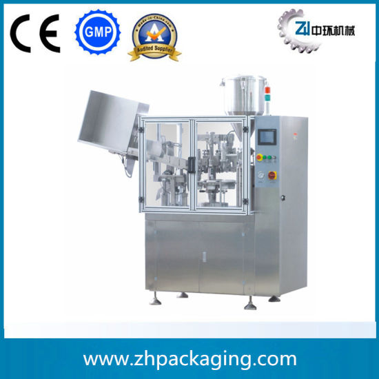 Zhzf-50b Al Tube Filling and Sealing Machine pictures & photos