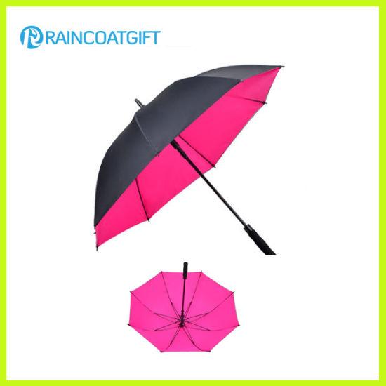 Automatic Opening Outdoor Straight Advertising Golf Umbrella