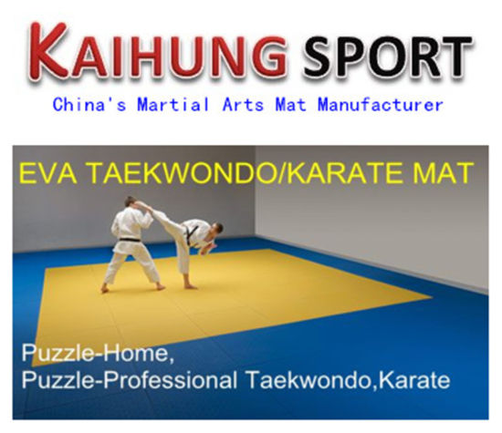 High Quality 2.5cm 3cm 4cm Martial Arts Mat, EVA Mat for Wholesales pictures & photos