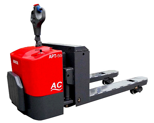 Apt-50 AC+EPS Advancde Powered Pallet Truck (AC SYSTEM) (5.0 TONS) (HEAVY DUTY)
