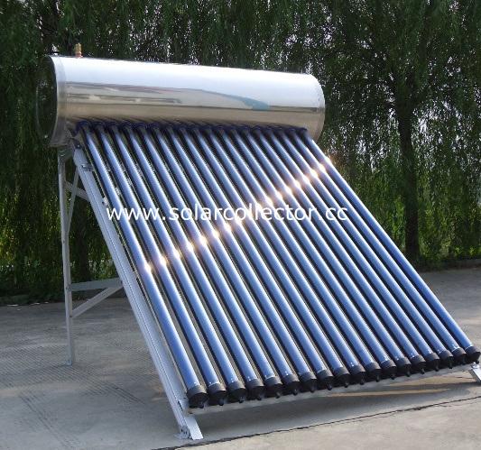Heat Pipe Solar Hot Water Heater