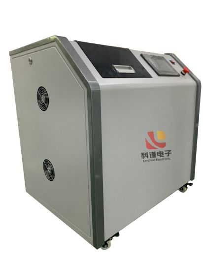Customized Induction Heating Machine with Industrial Chiller for Laboratory Heating