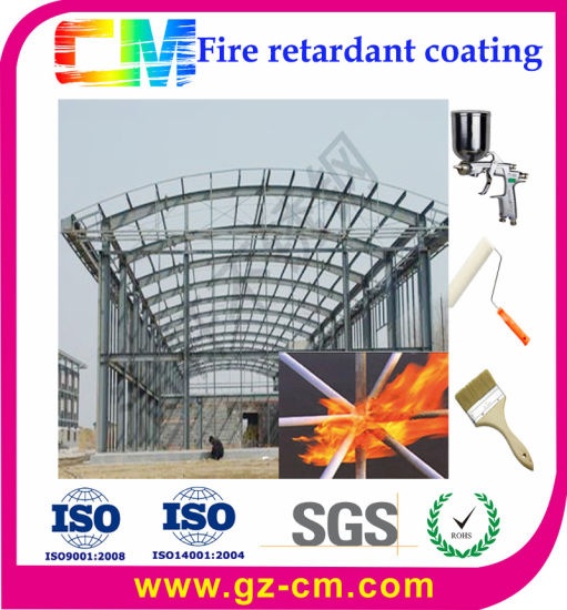 Intumescent Fire-Proof Coating for Steel Structure Building