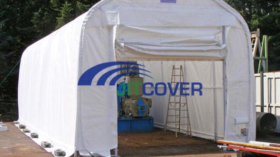 18′ Wide Portable Carport/ Bus Parking Shelter / RV Tent (JIT-1832)