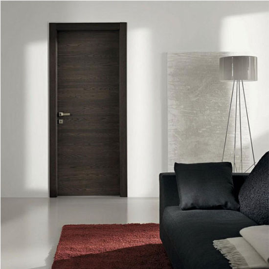 China White Color Swing Pvc Wooden Doors Solid Wood Door China