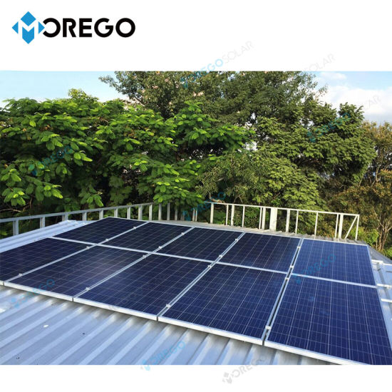 China Morego Solar Power System 5kw 10kw Solar Generator China Solar System Solar Power System