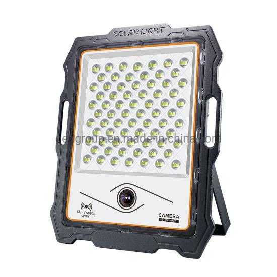 Motion Sensor IP67 LED SMD 1080P Security Camera Solar Power Portable 200W LED Flood Light