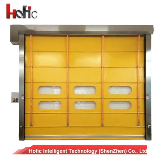 Flexible PVC High Speed Stacking Folding Rapid Door with Remote Control  sc 1 st  Hofic Intelligent Technology (Shenzhen) Co. Ltd. & China Flexible PVC High Speed Stacking Folding Rapid Door with ...