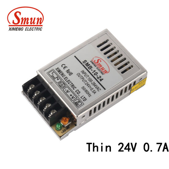 Smun SMB-10-24 10W 24V 0.4A Ultra Thin AC-DC Transformer pictures & photos