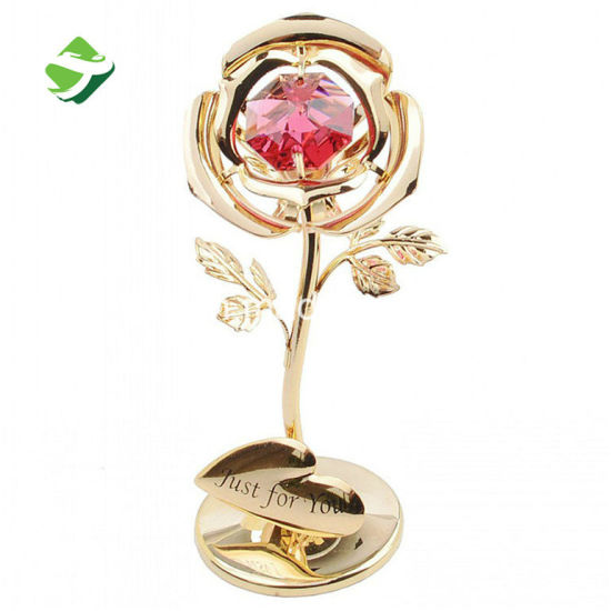 China Wholesale 24k Golden Rose Flowers Valentines Day Gifts China