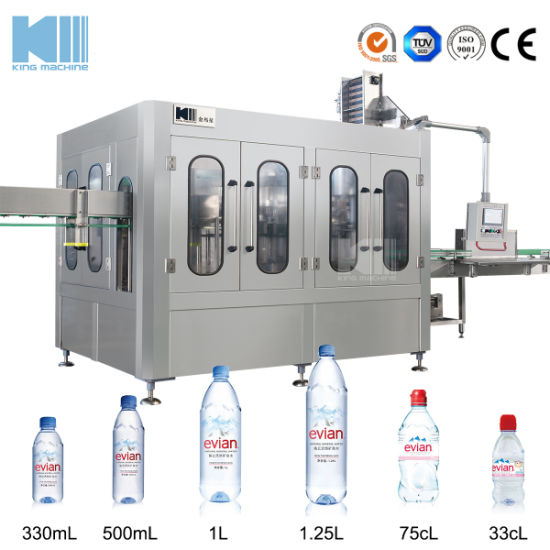 China Rotary Type 3 in 1 Bottled Drinking Water Filling