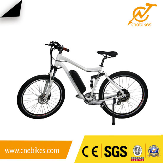 Rear 36V 350W Geared Hub Motor Electric Bicycle for Adults