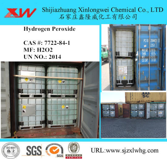 Textile and Tannery Chemical Hydrogen Peroxide H2O2