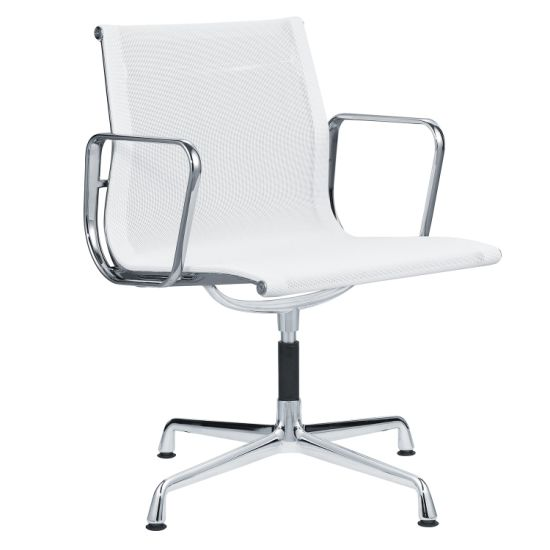 Ray and Charles Eames Low Back Mesh Rovlving Mesh Office Chair Visitor Chair with Wheels