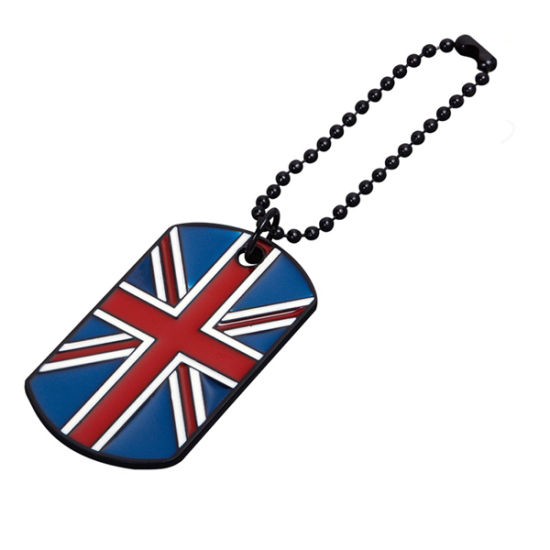 Custom Shape Soft Enamel Fashion Zinc Alloy Dog Tag pictures & photos