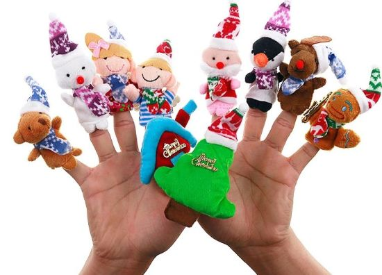 Plush Toys Christmas Hand Puppet
